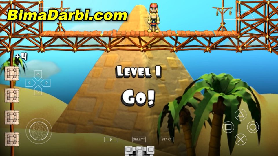 (PSP Android) BABEL The King of The Blocks | PPSSPP Android #2