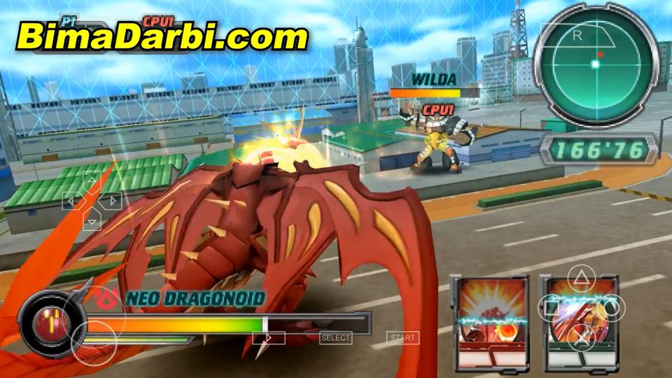 (PSP Android) Bakugan: Defenders of the Core | PPSSPP Android #3