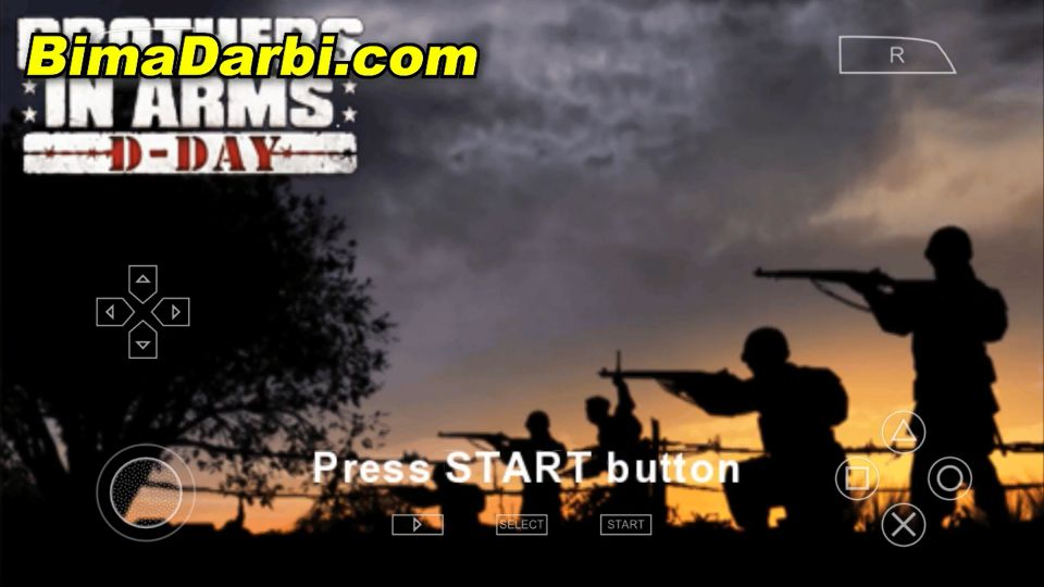 (PSP Android) Brothers in Arms: D-Day | PPSSPP Android #1