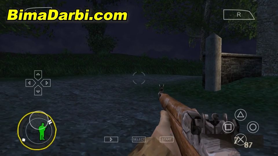 (PSP Android) Brothers in Arms: D-Day | PPSSPP Android #2