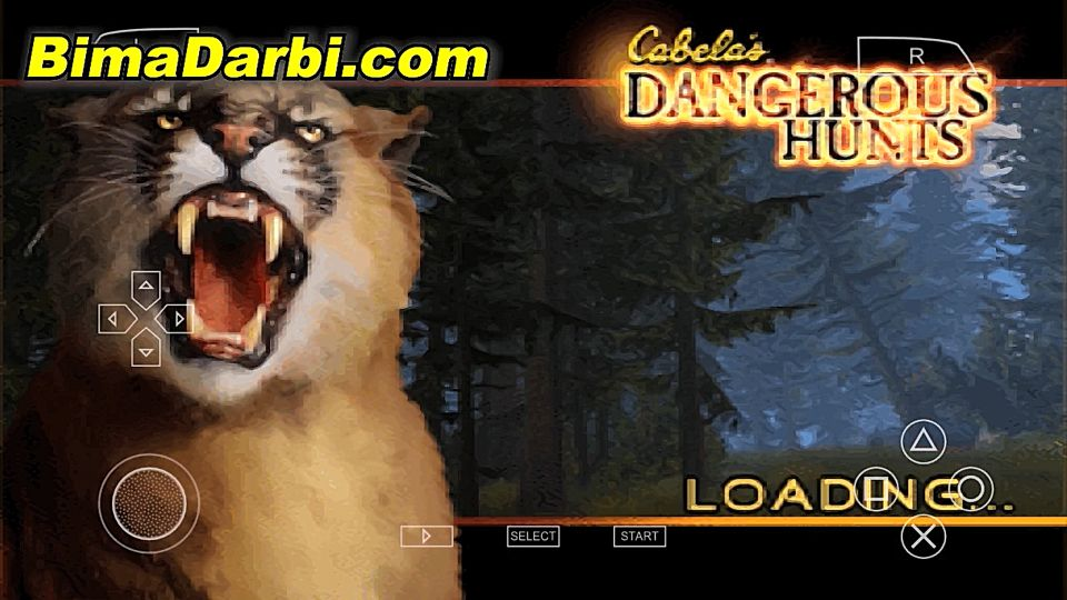 (PSP Android) Cabela's Dangerous Hunts: Ultimate Challenge | PPSSPP Android | Best Setting For Android #1