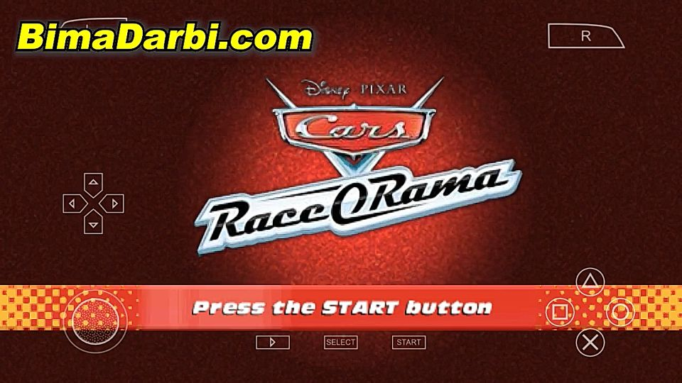 (PSP Android) Cars Race-O-Rama | PPSSPP Android | Best Setting For Android #1