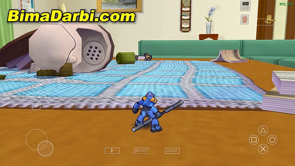 (PSP Android) Danball Senki Boost | PPSSPP Android | Best Setting For Android #2