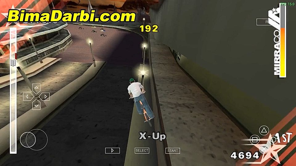 (PSP Android) Dave Mirra BMX Challenge | PPSSPP Android | Best Setting For Android #3