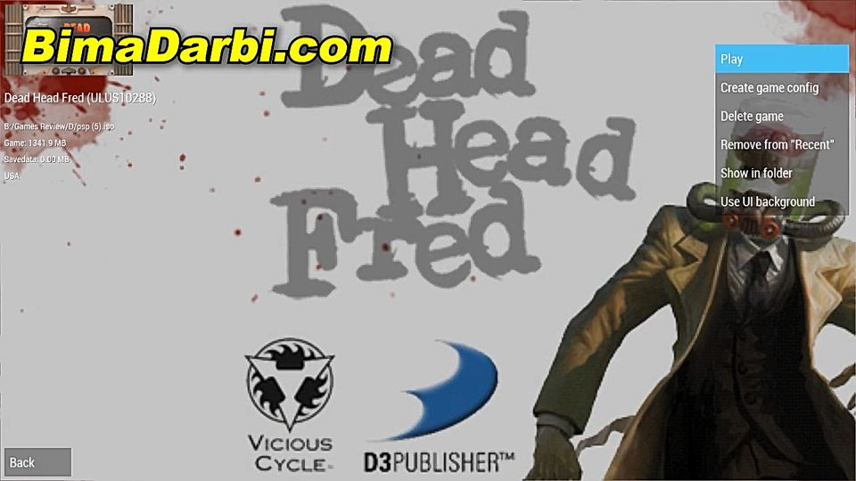(PSP Android) Dead Head Fred | PPSSPP Android | Best Setting For Android #1