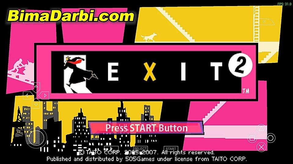 (PSP Android) Exit 2 (video game) | PPSSPP Android | Best Setting For Android #1