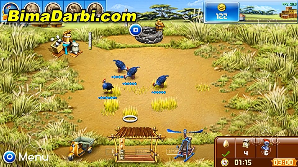 (PSP Android) Farm Frenzy 3 | PPSSPP Android | Best Setting For Android #2
