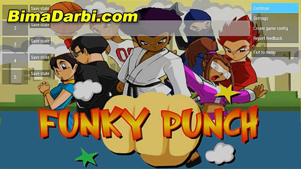 (PSP Android) Funky Punch | PPSSPP Android | Best Setting For Android #1