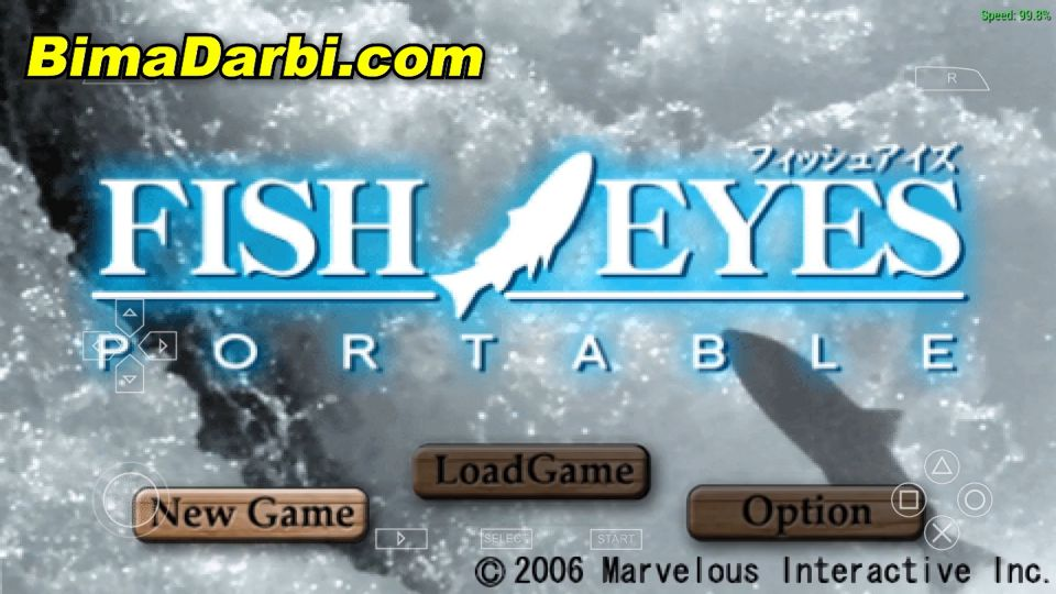 Fish Eyes Portable | PPSSPP Android | Best Setting For Android #1