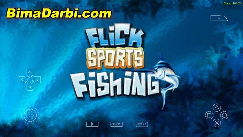 Flick Fishing | PPSSPP Android | Best Setting For Android #1