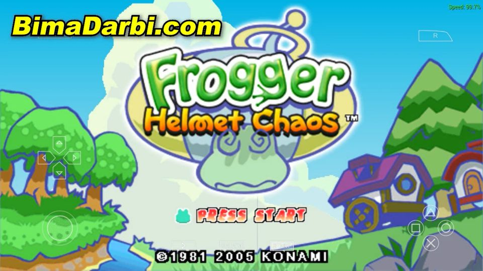 Frogger: Helmet Chaos | PPSSPP Android | Best Setting For Android #1