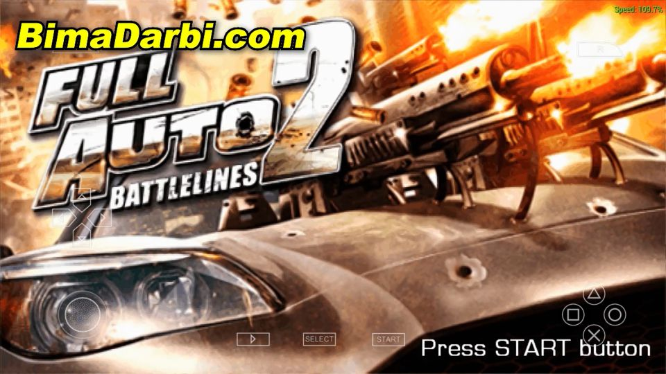 Full Auto 2: Battlelines   PPSSPP Android   Best Setting For Android #1
