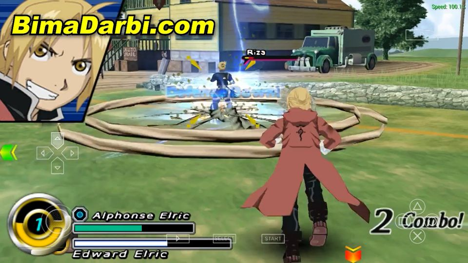 Fullmetal Alchemist - Brotherhood | PPSSPP Android | Best Setting For Android #3