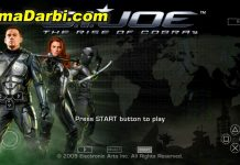 G.I. Joe: The Rise of Cobra | PPSSPP Android | Best Setting For Android #1