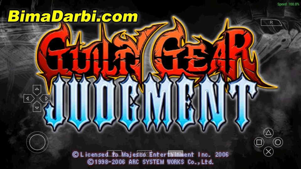 Guilty Gear Judgment | PPSSPP Android | Best Setting For Android #1