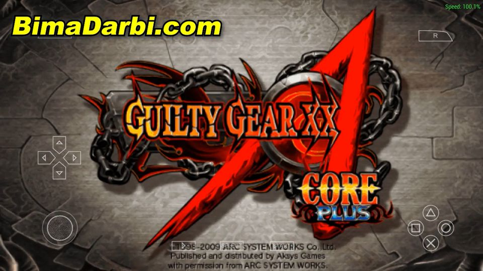 Guilty Gear XX Accent Core Plus | PPSSPP Android | Best Setting For Android #1