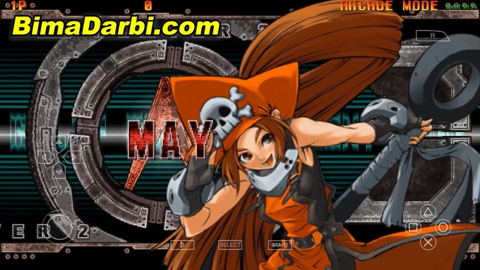 Guilty Gear XX Accent Core Plus | PPSSPP Android | Best Setting For Android #2