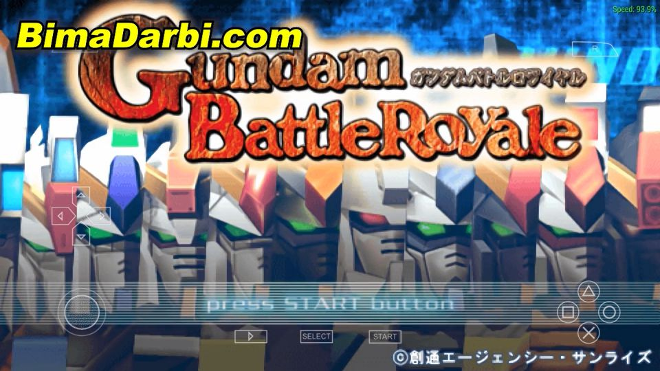 Gundam Battle Royale | PPSSPP Android | Best Setting For Android #1