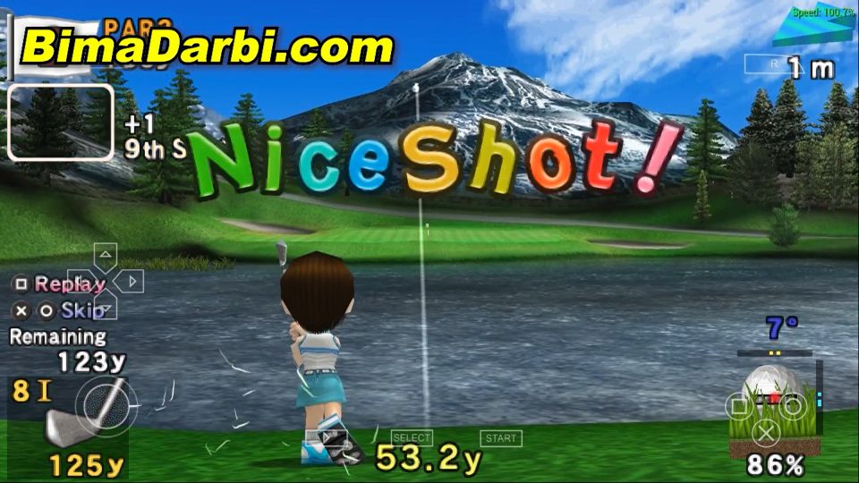 Hot Shots Golf: Open Tee | PPSSPP Android | Best Setting For Android #3
